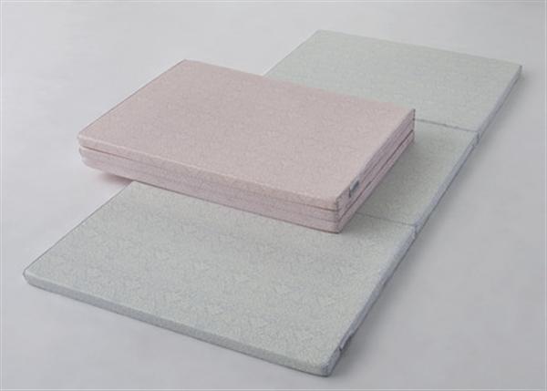 すっきりコンパクト 硬質マットレス / シングルロング <シングル>ピンク