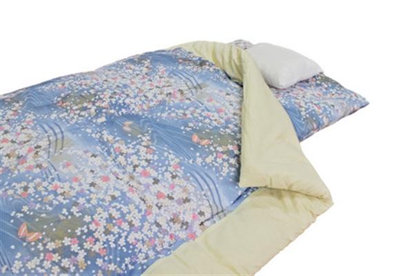 【日本製】【掛布団】上質綿100%使用 和綴じ掛け布団 ピンク