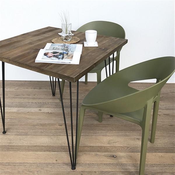 おしゃれ 椅子/カフェチェア/ガーデンチェア/スタッキング/店舗用イス グリーンティ