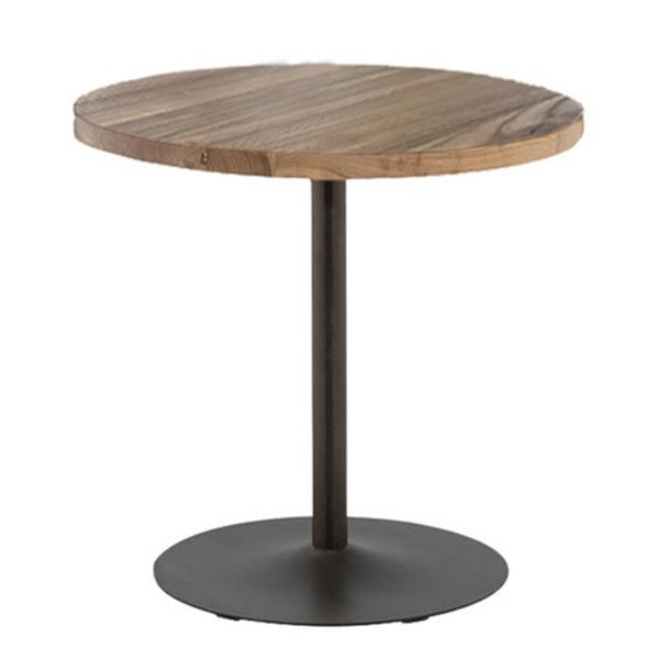 丸テーブル ロータイプ φ800 カフェ空間・ブルックリン・インダストリアル