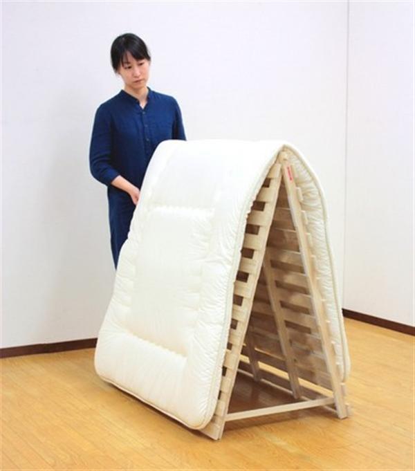 スタンド式すのこベッド セミダブル