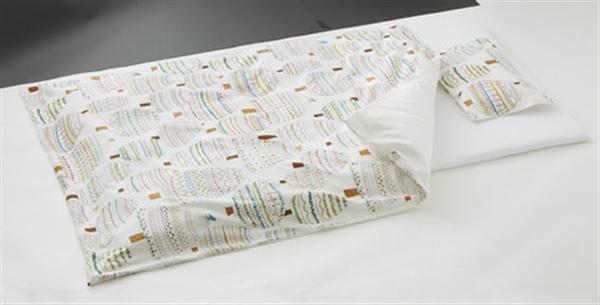 日本製ベビー用布団6点セット ベビーサイズRuska(ラスカ)<日本製> ナチュラル