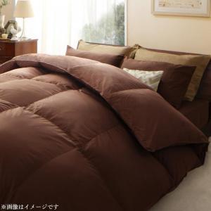 日本製ウクライナ産グースダウン93% ロイヤルゴールドラベル羽毛掛布団単品 Bloom ブルーム ダブル