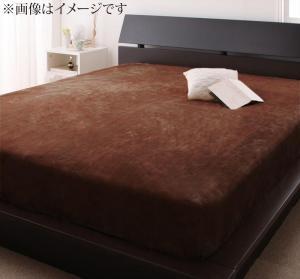 寝心地・カラー・タイプが選べる 大きいサイズのパッド・シーツ シリーズ ベッド用ボックスシーツ プレミアムマイクロ キング