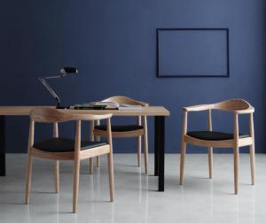 デザイナーズダイニングセット JOSE ジョゼ 5点セット(テーブル+チェア4脚) W150