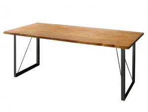 アメリカンオーク無垢材ヴィンテージデザインダイニング Pittsburgh ピッツバーグ ダイニングテーブル W180