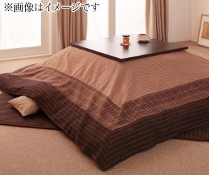 しじら織り省スペースこたつ布団 紫月 しづき 上掛け 5尺長方形(90×150cm)天板対応