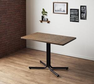ヴィンテージカフェスタイルソファダイニング Towne タウン ダイニングテーブル W100