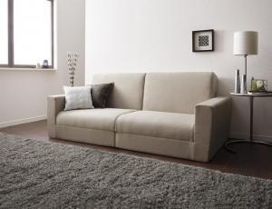ポケットコイルで快適快眠ゆったり寝られるデザインソファベッド Ceuta セウタ 幅190cm