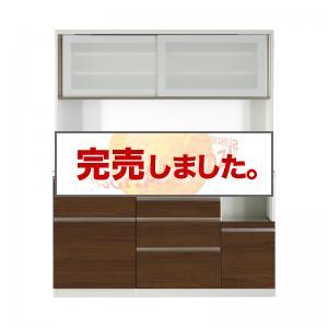 開梱サービスなし 大型レンジ対応 ハイカウンター90cmキッチンボード OLEGANO オレガノ キッチンボード 幅160 高さ185