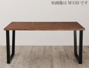 古木風×スチール脚ナチュラルモダンデザインダイニング FOLKIS フォーキス ダイニングテーブル W120