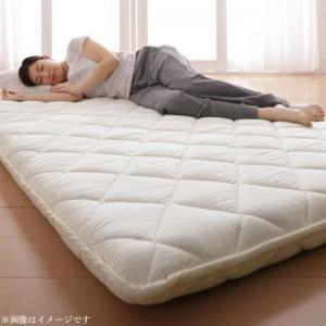 テイジン V-Lap使用 日本製 朝の目覚めを考えた 腰にやさしい 高弾力四層敷き布団 シングル