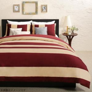 日本製・綿100% エレガントモダンボーダーデザインカバーリング winkle ウィンクル 布団カバーセット 和式用 50×70用 セミダブル3点セット