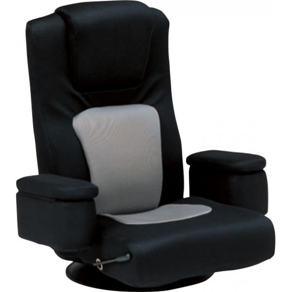 座椅子(ブラック) LZ-082BK