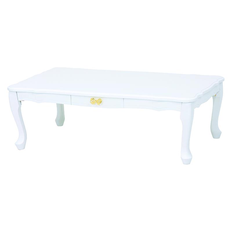 折れ脚テーブル(ホワイト) MT-6041WH
