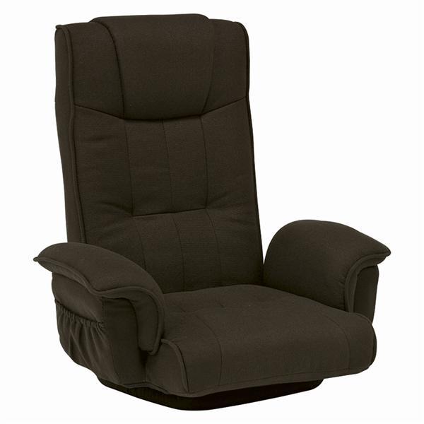 回転座椅子(ブラウン) LZ-4272BR