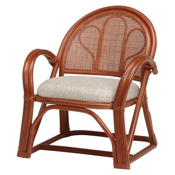 籐楽々座椅子 RZ-672BR