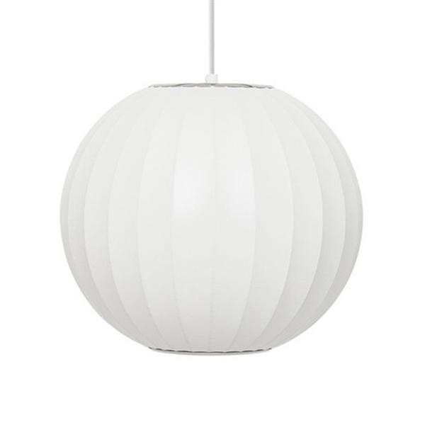 <ジョージ・ネルソン リプロダクト> バブルランプ ボールペンダントランプ BallLamp ペンダントライト Sサイズ ホワイト