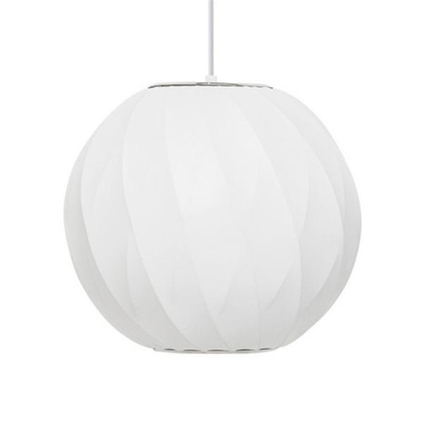 <ジョージ・ネルソン> バブルランプ ボールクリスクロスペンダント BallCrisscrossLamp Sサイズ ホワイト