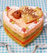 ペット用 買い取り 犬用 ごはん おやつ ペットフード ドッグフード ご褒美 ハッピーLOVEフードペット用 正規品 記念日 お魚のケーキ 誕生日 サーモンをたっぷり使った ケーキ ペット