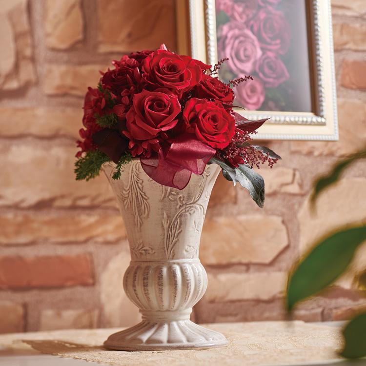 グラツィアL バラ プリザーブドフラワー フラワーアレンジメント ギフト プレゼント お祝い 送料無料