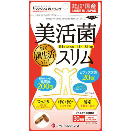 美活菌スリム 341mg×60球 10個セット 【お取り寄せ】(4945904018507-10)