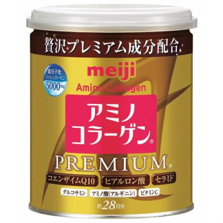 明治 アミノコラーゲンプレミアム 缶タイプ 200g 【10個セット】 (4902777314068-10)