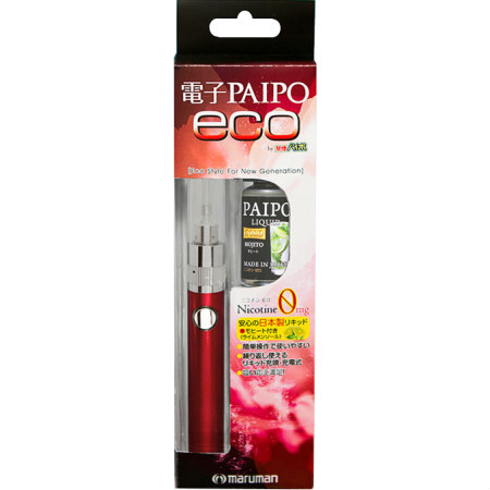 【送料無料】 電子PAIPO eco レッド 【3個セット】【メール便】【お取り寄せ】(4957669863636-3)