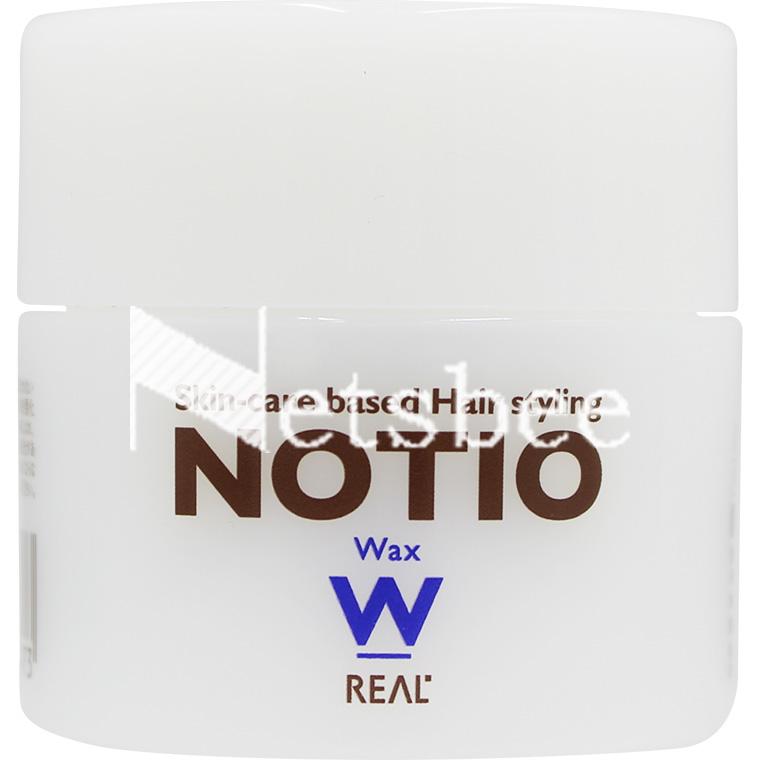 スキンケア発想のヘアケア化粧品 永遠の定番モデル リアル ノティオ 45g ワックス 好評
