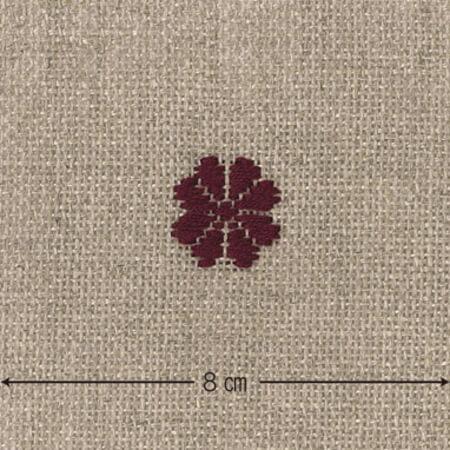 こぎん刺し 布 No.3500 リネンクロス カットクロス 約46×50cm ネコポス可 オリムパス olm 手芸の山久