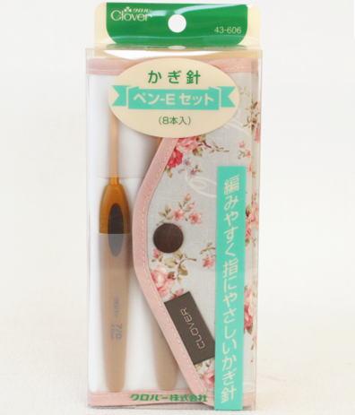 Yamakyu Of Handicraft Clover Crochet Hook Set Pen E Set 43 606
