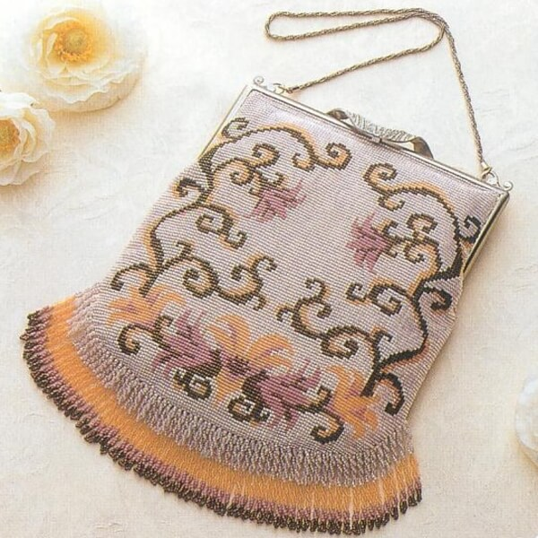 トーホー BK-30ツイストフリンジのバッグキット ビーズ織り手芸キット-4-高等科2 取寄せ商品 手芸の山久