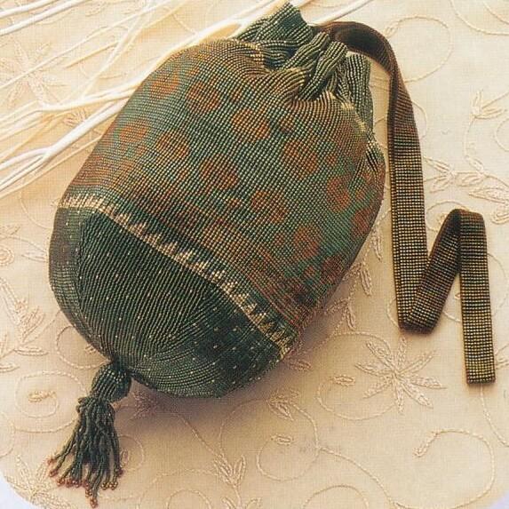 トーホー BK-36タッセルの付いた巾着キット ビーズ織り手芸キット-4-高等科2 取寄せ商品 手芸の山久