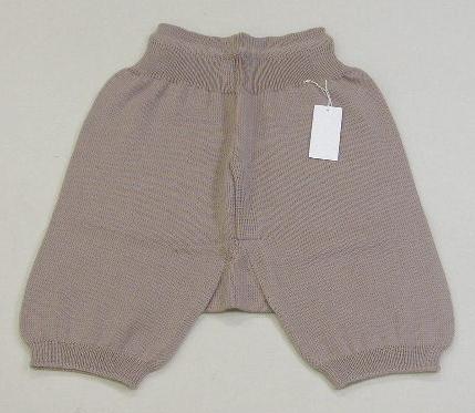毛糸 パンツ M メンズ/男性用 純毛 ウール100% 日本製 防寒 冷え取り カサハラ 手芸の山久