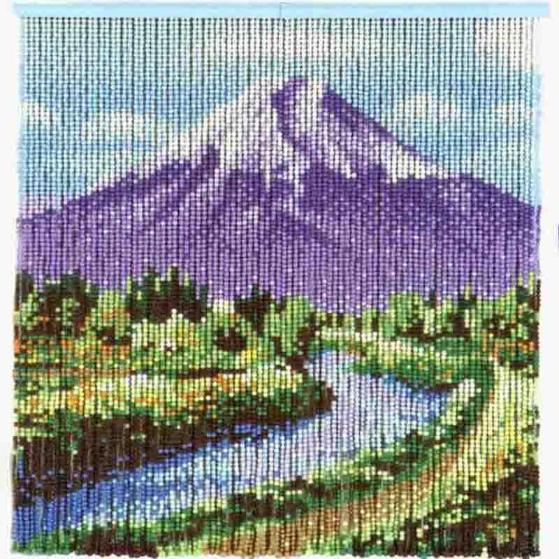 スキルスクリーン 富士山展望 S139 元廣 sky 手芸の山久
