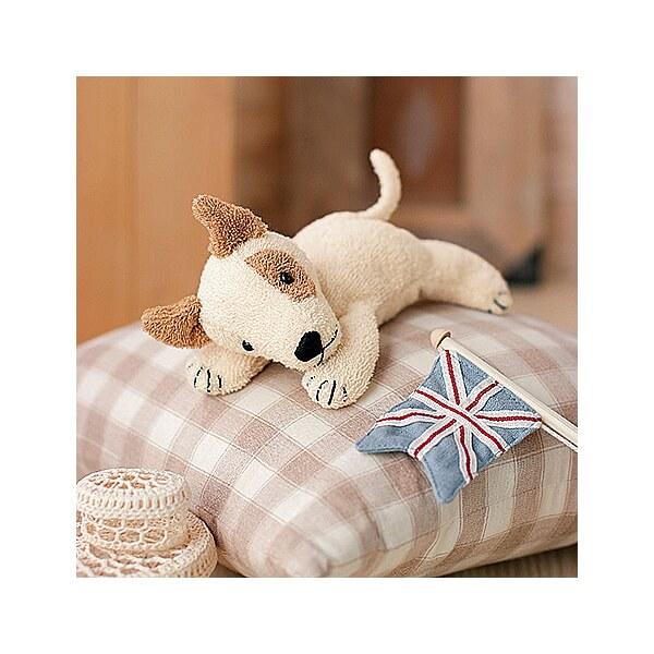 Shag H434 010 Bull Terrier Stuffed Animal Sewing Kit Organic Style Best Friends Series