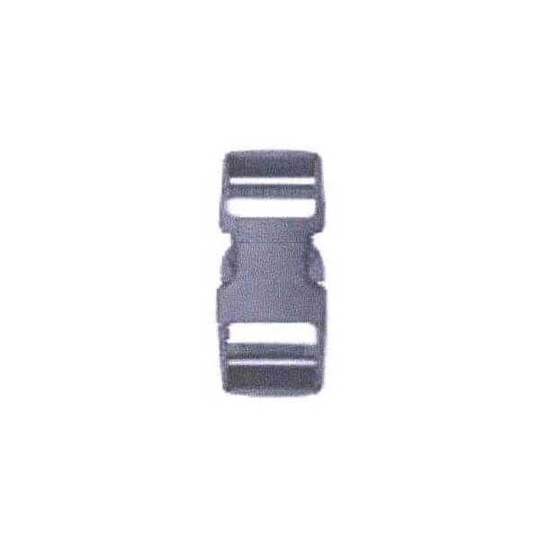10個単位 送料無料 高価値 一部地域を除く ボア プラスチックバックル 黒 S1D-20mm バッグ用止め具 手芸の山久 バッグ用留め具 20mm S1D-20mm