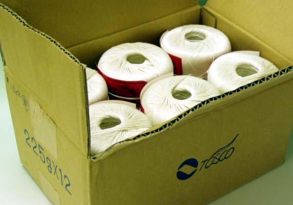 麻糸 トスコラミー225g12個1箱赤ラベル ラクダ印 麻(ラミー)100% 日本製 手芸の山久