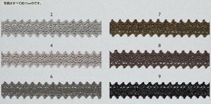 Tokyo Ribbon lace, torchon 310 [about 15 mm x 3 m] Ribbon gift gift gift wrapping supplies bouquet arrangement decoration tr handicraft Laura