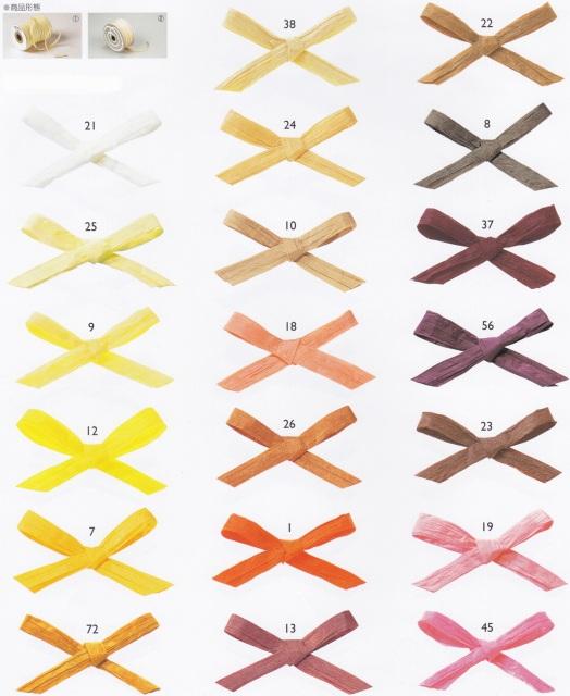 Yamakyu Of Handicraft 東京絲帶紙拉菲 約 5 毫米 X 91 M 蘿拉丁字褲字串紙禮物