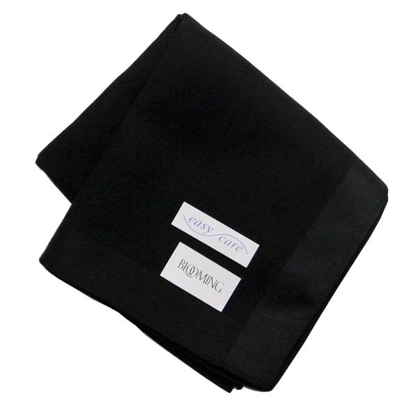 新作からSALEアイテム等お得な商品満載 ハンカチ ギフト 公式サイト ブルーミング紳士ハンカチ イージーケア ブラック 5251