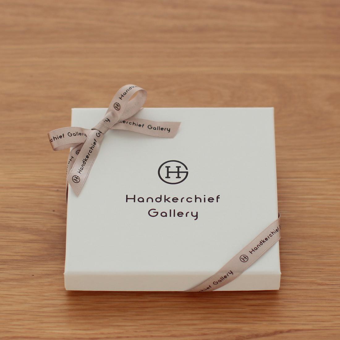ハンカチーフギャラリー正方形ギフトBOX 送料無料カード決済可能 AL完売しました。 1枚入れ