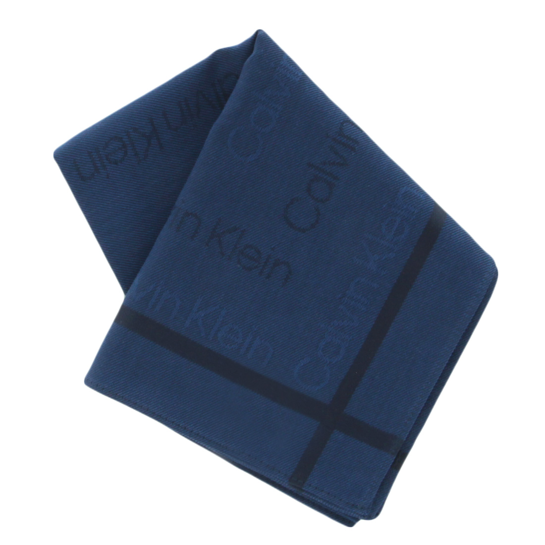 Calvin Klein カルバン ◆高品質 クライン メンズハンカチ ネイビー 数量限定アウトレット最安価格 1554
