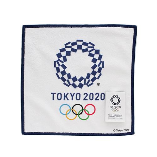 東京2020公式ライセンス商品 SALE 800円→300円 0001 日本限定 マルチハンカチーフ 東京2020オリンピックエンブレム 新色追加して再販