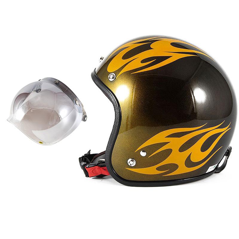 72JAM デザイナーズジェットヘルメット [JCP-02] 開閉シールド付き [JCBN-03]BURNS バーンズ イエロー [キャンディーイエローベースグロス仕上げ]FREEサイズ(57-60cm未満) メンズ レディース 兼用品 SG規格 全排気量対応