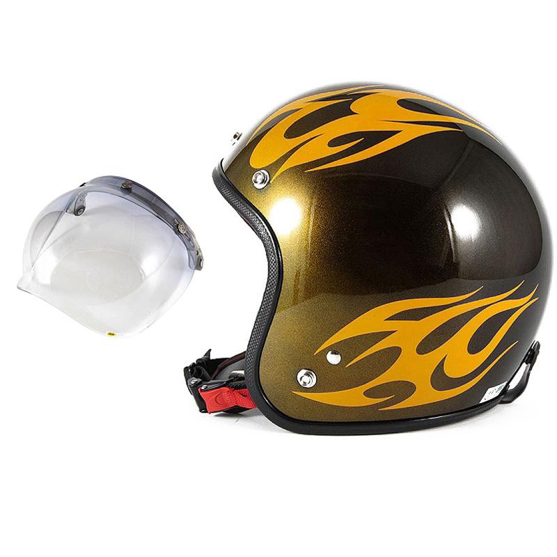 72JAM デザイナーズジェットヘルメット [JCP-02] 開閉シールド付き [JCBN-05]BURNS バーンズ イエロー [キャンディーイエローベースグロス仕上げ]FREEサイズ(57-60cm未満) メンズ レディース 兼用品 SG規格 全排気量対応