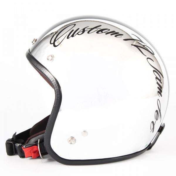 ジャムテックジャパン 72JAM JCP-06CHROMES CM/BK クロームズ ブラック ジェットヘルメット [クロームメッキベースグロス仕上げ]FREEサイズ(57-60cm未満) メンズ レディース 兼用品 SG規格 全排気量対応