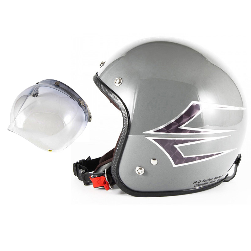 72JAM デザイナーズジェットヘルメット [JCP-38] 開閉シールド付き [JCBN-05]Spindle スピンドル アイリッシュグレー [アイリッシュグレーベースグロス仕上げ]FREEサイズ(57-60cm未満) メンズ レディース 兼用品 SG規格 全排気量対応