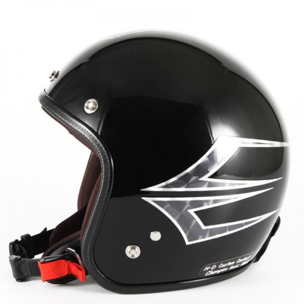 ジャムテックジャパン 72JAM JCP-39Spindle スピンドル ミッドナイトブラック ジェットヘルメット [ミッドナイトブラックベースグロス仕上げ]FREEサイズ(57-60cm未満) メンズ レディース 兼用品 SG規格 全排気量対応