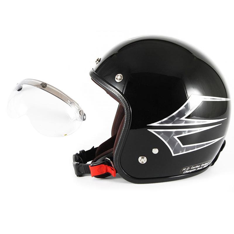 72JAM デザイナーズジェットヘルメット [JCP-39] 開閉シールド付き [APS-01]Spindle スピンドル ミッドナイトブラック [ミッドナイトブラックベースグロス仕上げ]FREEサイズ(57-60cm未満) メンズ レディース 兼用品 SG規格 全排気量対応